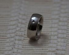 Qudo Famosa Ring Wide  - Silver/Plated- Interchangable Swarovski Crystals