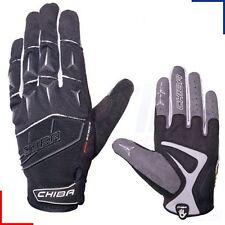 Chiba Mens Pro Series MTB Rider Full Finger Cycling Protection Gloves