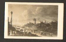 WIDOK (POLOGNE) PHARE & SCENE DE VIE AU PORT / WIDOK PORTU en 1625 ,J. VAN GOYEN
