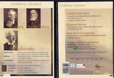 KLASSIK DVD: BRAHMS-SAINT-SAENS-TSCHAIKOWSKY (NEU)