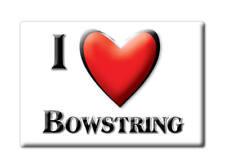 SOUVENIR USA - MINNESOTA FRIDGE MAGNET I LOVE BOWSTRING (ITASCA COUNTY)