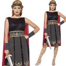 Ladies Warrior Costume Roman Fancy Dress
