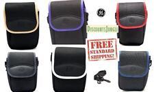 Original GE Case & Neck strap Digital Camera Models X400 X450 X500 X550 x600