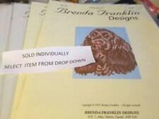 Brenda Franklin Designs Dog Cross Stitch Chart-Dp-Ds Series- Breeds Starting Wit