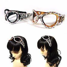Swarovski Crystal Rhinestone Jewelry Sunglasses Headband Hairband Headpiece Gift
