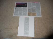 Pioneer Elite PD-M90x CD Changer Review, 3 pg, 1987, Full Test