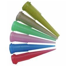 100PCS TT plastic syringe dispensing needle tip cap