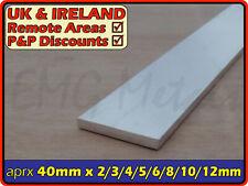 "Aluminium Flat Bar (strip,edging,section,profile,alloy)   1.5"" / 38mm width"