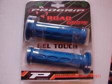 Progrip Pro Grip # 713 BLUE gel grips sportbike superbike street 125mm