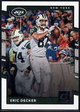 Eric Decker 2017 Donruss #250 NY Jets