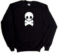 Fat Skull And Crossbones Sweatshirt
