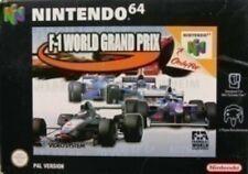 N64 f-1 World Grand Prix 1/état Sélectionnable