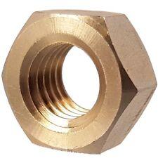 Metric Brass Full Nuts M2 M2.5 M3 M4 M5 M6 M8 M10 M12 M16 M20 Hex Nut HPC Gears