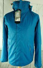 BNWT McKinley Aquamax Pro Waterproof Windproof Breathable Winter Coat Blue