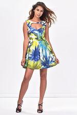 NWT ITALIAN DESIGNER COCONUDA Gorgeous Summer Dress Size S M L 8 10 12 14