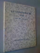 Joe Bousquet E/O 150ex La connaissance du Soir 1945