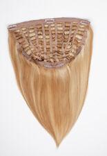 Halfwig Haarverlängerung Echthaar Tresse mit Clips 70g 35cm 50cm
