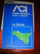GRANDE CARTA STRADALE SICILIA