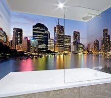 3D Urban River Sky 688 WallPaper Bathroom Print Decal Wall Deco AJ WALL CA Carly