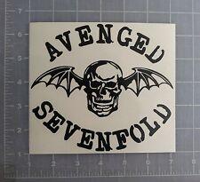 Avenged Sevenfold Vinyl Sticker Decal bumper car laptop  window wall Bat Skull