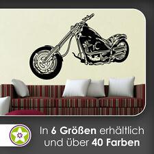 Waf0171-Chopper mural Kiwistar-Autocollant wall sticker