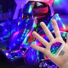 Multi Color USB LED Car Interior Lighting Kit Atmosphere Light Neon Lamps-