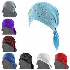 Womens Scarf Pre Tied Chemo Hat Beanie Turban Headwear for Cancer Hair Loss Gift
