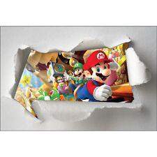 Adesivi bambino carta strappato Mario ref 7609
