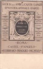 * ROMA - Castel S.Angelo - II Mostra Annuale d'Arte