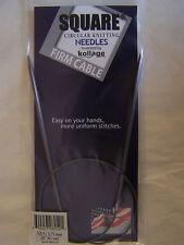 """Kollage Square Circular Knitting Needles 32"""" FIRM"""