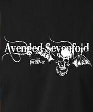 AVENGED SEVENFOLD T-Shirt Skull Wings Logo Hard Metal Rock Band S-6XL Gildan Tee