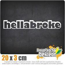 Hellabroke csf0081 20 x 3 cm JDM  Sticker Aufkleber
