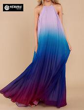 Vestito Lungo Estate Donna Maxi Dress Chiffon Woman Long Dress Summer 110060C