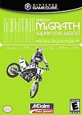 Jeremy McGrath Supercross World Nintendo GameCube -- Comes in case