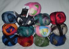 10,90€ / 100 gr LACE BALL / ZAUBERBALL von Schoppel dünnes Lacegarn Farbverlauf