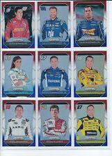 2016 NASCAR Panini PRIZM Red/White/Blue REFRACTOR Card #1-#100 Dale Jr JJ Chase