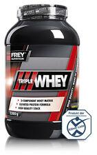 Frey Nutrition Triple Whey Protein 2300g Eiweiss Dose + Mega Bonus
