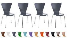 4x Besucherstuhl Calisto Stapelstuhl Konferenzstuhl Stuhl Stapelbar Küchenstuhl