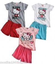 Hello Kitty Pyjama Shorty Schlafanzug verschiedene Farben 104-140
