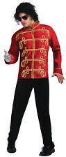 Michael Jackson Thriller Anni 80 Rosso Militare Principe Giacca da Uomo Adulto