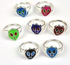 Cool Original Vintage Alien Ring USA 1970s Children Ring