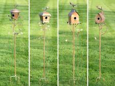Bird House Garden Stake