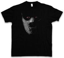HANNIBAL MASK T-SHIRT Schweigen Face Red The Roter Maske Leder Silence Lecter