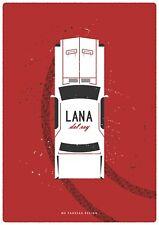 Lana Del Rey Music Digital Art Poster Print T1199  A4 A3 A2 A1 A0 