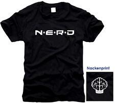 NERD - N.E.R.D. - KULT -  T-Shirt, Gr. S bis XXXL