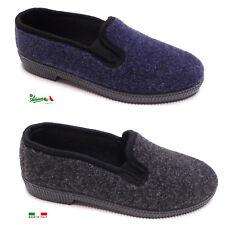 Pantofole ciabatte scarpa uomo MadeInItaly comode calde invernali economiche