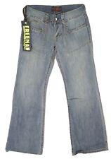 Jeans VINTAGE large pattes d'eph bootcut femme FREEMAN TRIUMPH LINEN DENIM