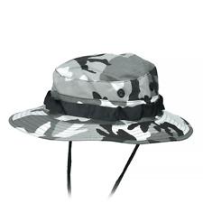 MFH US GI Ripstop Boonie Jungle Bush Hat Metro (Urban) Camo