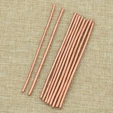 5pcs Copper Bar Rods Cylinder 100mm Length Brass Welding Solder Accessories