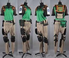 Resident Evil 5 Chris Redfield Halloween Cosplay Costume